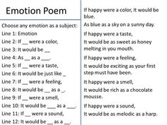 instructions for writing a 2 voice poem