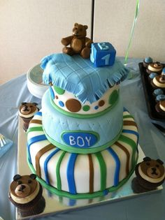 I dont what i'm having yet, but i would love this cake for my baby shower if i was having a boy!!