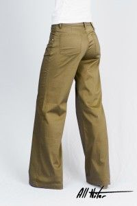 Women's Organic All-Niter Loose Fit Sage Sateen WAS £65 NOW £40 Available now at Monkeegenes.com