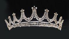 Edwardian diamond tiara (I like it, anyone know it?)