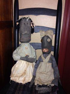 Prim dolls Mary Ann Caba