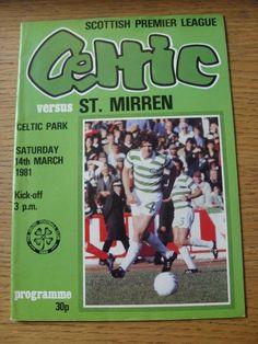 14/03/1981 Celtic v St Mirren  (No apparent faults).