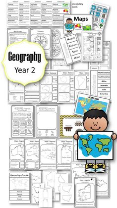 Contained in this pack is EVERYTHING you need to teach Year 2 Geography to meet the Australian Curriculum Standards (ACARA)