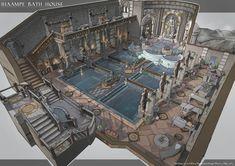 Fantasy Rooms, Fantasy City, Fantasy Castle, Fantasy House, Fantasy Places, Fantasy Map, Fantasy World, Fantasy Art Landscapes, Fantasy Landscape