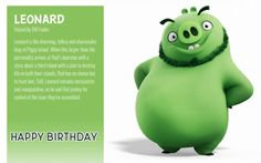 Angry Birds 2 Birthday Ecards Happy Birthday Ecard, 2nd Birthday, Birthday Cards, Angry Birds Funny, Betty Boop Cartoon, Birds 2, Ecards, Pigs, Mammals