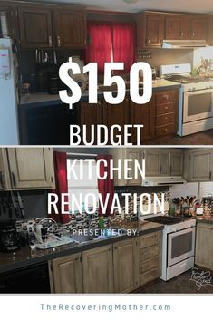 Home Remodeling Renovation Budget Kitchen Renovation Budget Kitchen Remodel, Renovation Budget, Kitchen On A Budget, Cheap Renovations, Farmhouse Renovation, Kitchen Makeovers, Cheap Remodeling Ideas, Diy Kitchen Makeover, Cheap Kitchen Updates