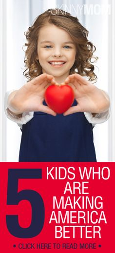 Get inspired by our youth! These kids' and their actions will make you take action for your own health!