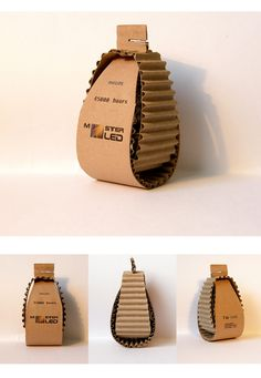 https://flic.kr/p/6ydZBe | bulb packaging | durability, elegance, ecological preferences (material and the absence of glue)