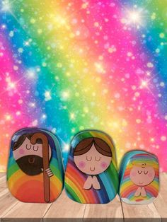 Baby Jesus, Christmas Presents, Nativity, Things To Come, Scene, Rainbow, The Originals, Etsy, Box