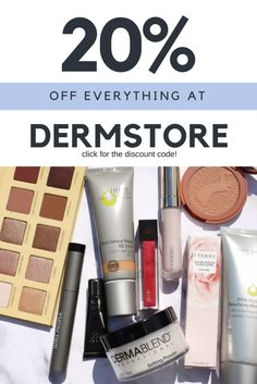 DERMSTORE 20% OFF SALE + MY HAUL | Kate Loves Makeup | Find out how to get 20% off all makeup, skincare, and haircare products at Dermstore with the discount code SALE20
