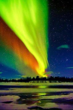 #travel #alaska #northernlights