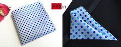 Hankerchief Scarves Practical Hankies Men's Pocket Square Dot Print