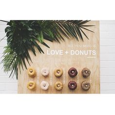Introducing....DONUT WALLS and BUFFETS!!!!! After months of planning, collaborating and fine tuning, we are so happy to announce that we have the perfect wedding dessert option for all you brides Head over to our FB page for more details and options Happy Weekend! Photography: @ashleedecairesphoto Donut Wall and Styling: @vinti_parties Donuts: @mamasdonutsnz Monstera: @theflowercrate