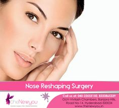 Correct the symmetry of your #nose and have perfectly shaped and sharp nose that you always wanted with the #NoseReshapingSurgery from theNewyou.