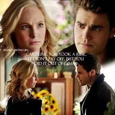 """#TVD 6x12 """"Prayer For the Dying"""" - Caroline and Stefan"""
