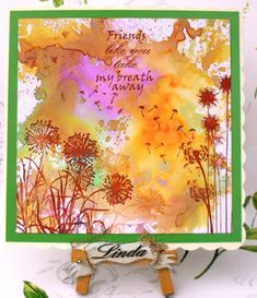 Linda's Crafty Piece of Heaven: Friends like you...