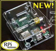 Case For Raspberry Pi Computer from Pi-Works