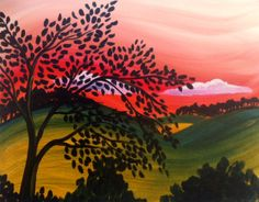 Hill Country Sunset, @ Pinot's Palette, North Austin, Fri., 11/22, 7-10pm, $45.