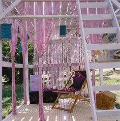 Garden mezzanine (DIY)