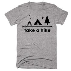 Take A Hike Camping T-Shirt