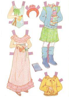 Фотографии Паперові ляльки/Бумажные куклы/ Paper Dolls – 97 альбомов
