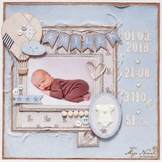 Scrapbooking Welcome Baby Boy *DT Maja Design Vintage Baby and Denim&Friends collections Bow tie – I Baby Boy Scrapbook, Paper Bag Scrapbook, Baby Scrapbook Pages, Mini Scrapbook Albums, Scrapbook Designs, Scrapbook Page Layouts, Welcome Baby Boys, Karten Diy, Baby Cards