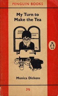 My turn to make the tea by  Monica Dickens -  so loved this one when I read it years ago.