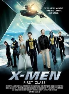 X-Men: First Class (2011) movie #poster, #tshirt, #mousepad, #movieposters2