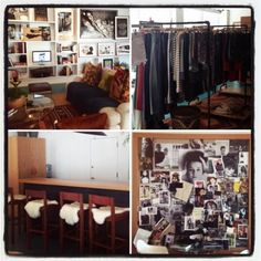 How sweet is the new Goldsign/Citizens of Humanity LA showroom?