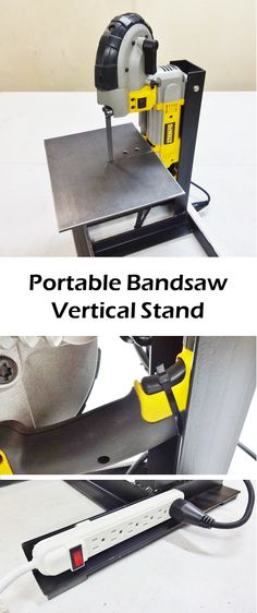 If you're looking to make a metal stand for your portable bandsaw, hopefully this will help you out.