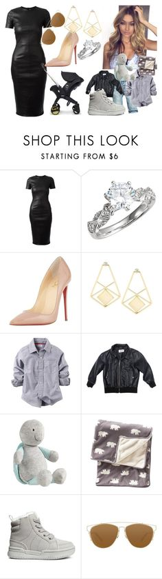 """Untitled #3380"" by nicole-briffa ❤ liked on Polyvore featuring Givenchy, Christian Louboutin, Cheap Monday, Carter's, Gap, Christian Dior, women's clothing, women, female and woman"