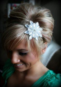 Starry Eyed Rhinestone Headband, Bridal Headband, Wedding Accessories, bridal hair accessories