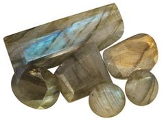 Parcel Of Madagascan Labradorite 50.00ctw Mixed