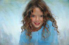 Portrait by Alain Picard, a fabulous pastel artist in Southbury, CT