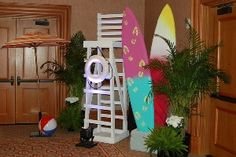 Lifeguard Stand #lifeguard #Baywatch #bydzign #props #vegasdecor #décor #partyrentals For more info/ideas visit www.by-dzign.com