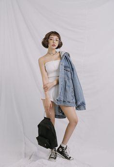 Stylenanda, Shorts, Stylish, Womens Fashion, Outfits, Vintage, Dresses, Japanese Fashion, Models