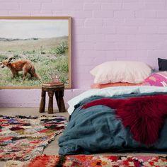 Garnet Icelandic Sheepskin – societyofwanderers Iceland, Garnet, Burgundy, Bedrooms, House, Inspiration, Furniture, Home Decor, Ice Land