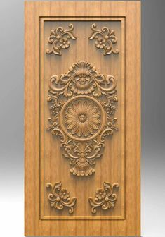 Door And Window Design, Wooden Main Door Design, Wood Design, Pooja Door Design, Ganesha Art, Floral Tattoo Design, Carving Designs, Shoe Cabinet, Kitchen Doors