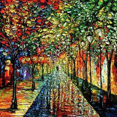 rain-night-painting--summer-rain-beata-sasik.jpg (600×600)
