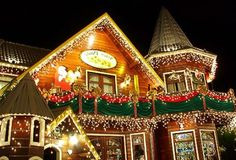 The city of Gramado, south of Brazil