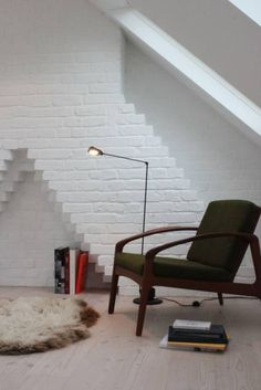 This is exactly the same brickwork as out attic - maybe leave it as is when we re-build!