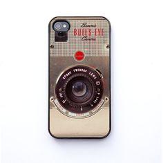 iPhone Case, vintage camera, cases for iPhone, kodak brownie, bomobob, brownie bullseye, iPhone 4s, iPhone 4, iPhone accessory. $30.00, via Etsy.