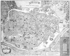 Sevilla, Plano de Olavide, 1771