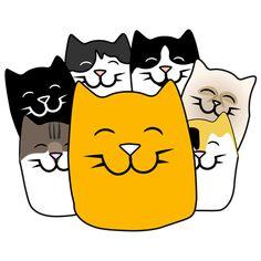Tiesitkö, että silittäessä silittäjässä erittyy mielihyvähormoni oksitosiinia? Siinäkin siis syy piipahtaa Tallinnan kissakahvila Nurrissa, jossa voi nauttia kahvia, leivonnaisia ja kevyttä ruokaa vastuullisesti hoidettujen eri löytöeläinpaikoista ja yksityisiltä omistajilta kotoisin olevien kissojen kera. Kahvila sijaitsee lähellä Stockmannia. Cat Cafe, Pikachu, Cats, Fictional Characters, Gatos, Cat, Fantasy Characters, Kitty, Kitty Cats
