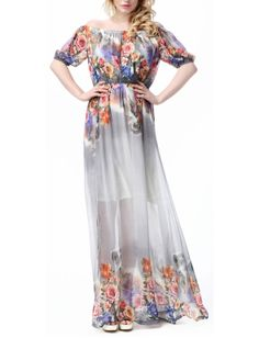 Women's Maxi Boho Bohemian Halter Beach Dress Plus Size