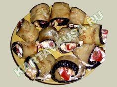закуска из жареных баклажанов с помидорами | пошаговый фото-рецепт
