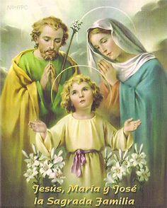 Imagen de Jesús, María y José, la Sagrada Familia