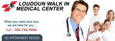 Loudoun Walkin Medical Center Provides many services includes emergency care, immediate care, Urgent care and Primary care. No appointment needed. Visit us today!