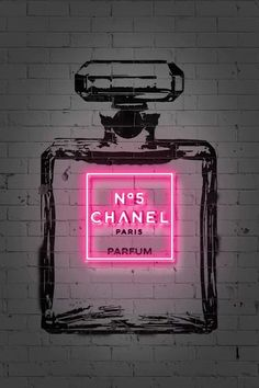 Wallpaper Iphone Neon, Aesthetic Iphone Wallpaper, Aesthetic Wallpapers, Photo Wall Collage, Picture Wall, Parfum Chanel, Neon Aesthetic, Pink Photo, Chanel Couture