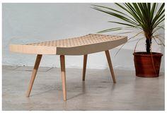 Benno Simma - Rib Furniture Bench (1997)